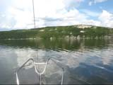 On the Dniester reservoir yacht ride ( video)