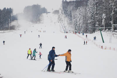 Ski runs Bukovina open season (photos)