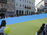 Chernivtsi launched a 20 - meter flag (PHOTOS )