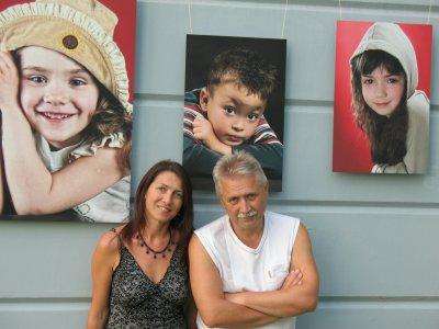Exhibition of children