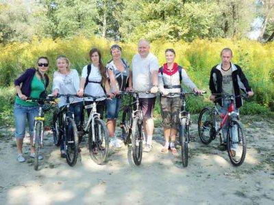 В Черновцах открыли велосипедный маршрут