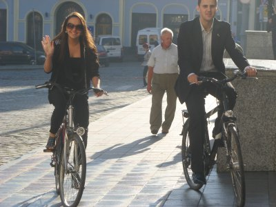 Черновицкие чиновники не пересели на велосипеды