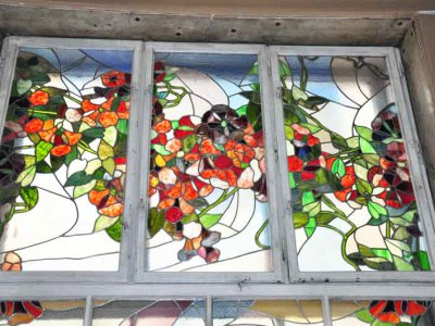 Restored stained glass Art Museum (PHOTOS )