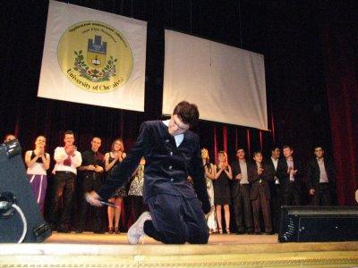 Черновицкие студенты показывали свои таланты (ВИДЕО)