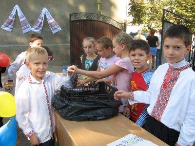 Черновицкие школьники собрали 14 тысяч гривен для онкобольных детей