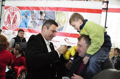 Vitali Klitschko in Bukovina