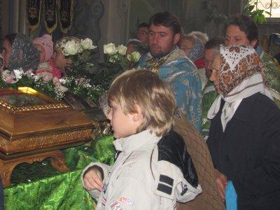 Мощи великомученика Пантелеймона привезли в Черновцы