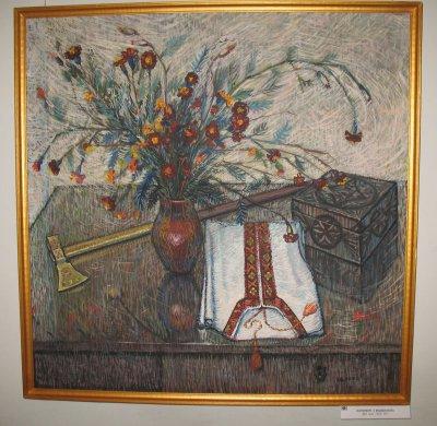 Художник Иван Балан представил почти 500 работ