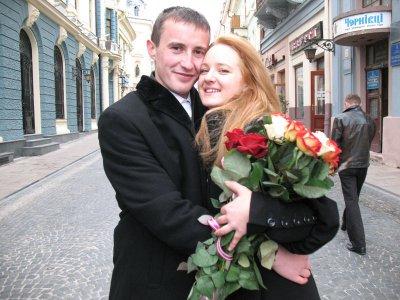 В Черновцах 11.11.11 - бум браков и обрядов