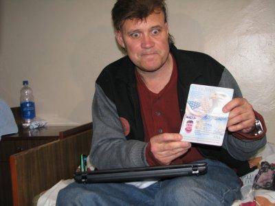Американец бомжевал в Черновцах из-за любви