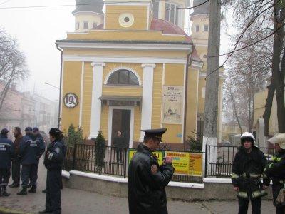Греко-католическую церковь в Черновцах заминировал психически больной