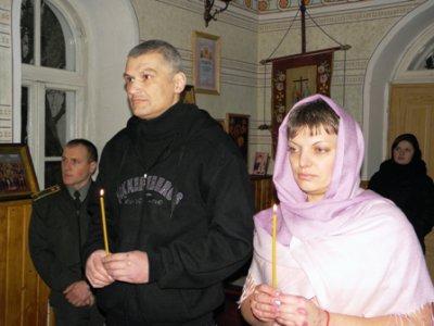 В черновицком СИЗО обвенчались двое заключенных