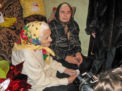 Черновчанка отпраздновала сотый день рождения