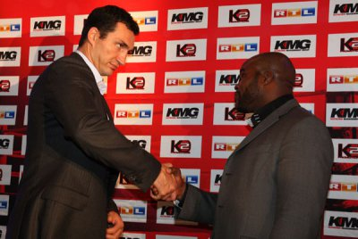 The fight between Klitschko and Mormeck rescheduled for March