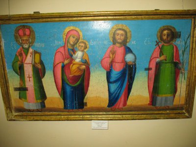 Выставка икон Святого Николая