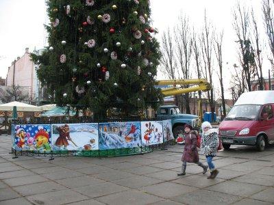 В Рождественском городке будут продавать пиццы-зонтики