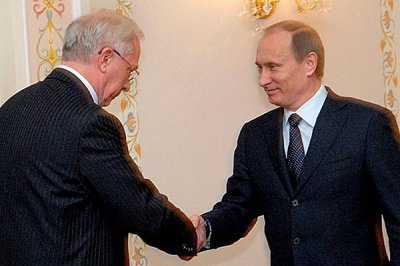 Azarov and Putin met at night