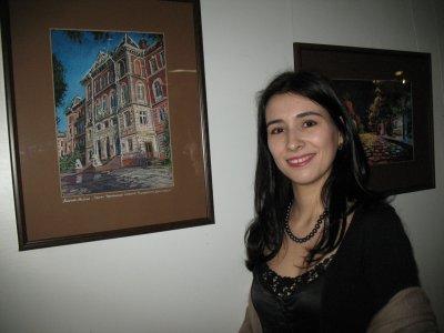 Башкирская художница влюбилась в Черновцы