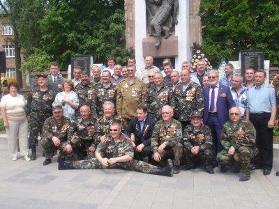 В честь воинов-афганцев в Черновцах назвали пять улиц