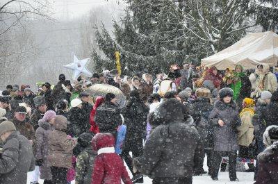 Под открытым небом праздновали «От Рождества до Иордана»