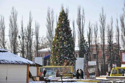 Новогодне-рождественские праздники обошлись Черновцам в 630 000