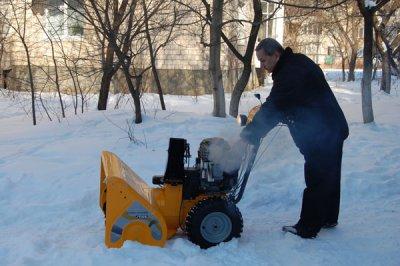 Бульвар в Черновцах будет расчищать от снега новая машина