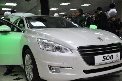 В Черновцах презентовали Peugeot 508