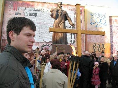 Черновцами прошел крестный ход