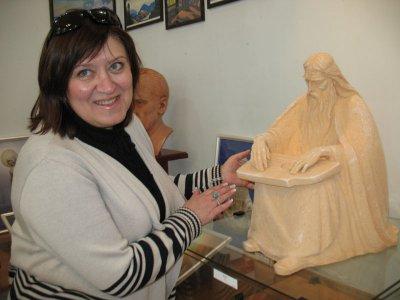В Черновцах - выставка сакральных скульптур
