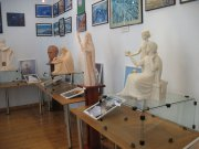 Chernivtsi - exhibition of sacred sculptures