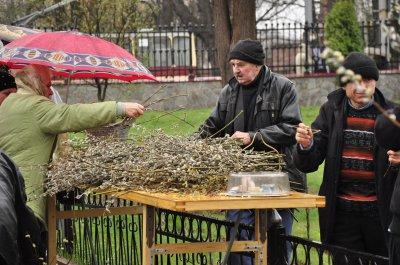 В Черновцах отпраздновали Вербное воскресенье