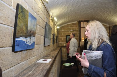 The artist Sergey Kolesnik opened in Chernivtsi exhibition of paintings