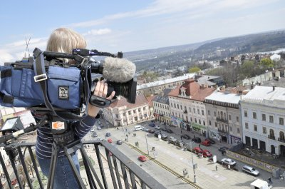 Немецкий телеканал снимает фильм о Черновцы