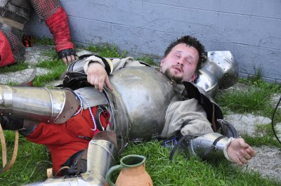 На Буковине сражаются рыцари из трех стран