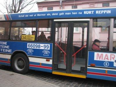В Черновцах ветеранов на праздник возить бесплатно автобусы и одно такси
