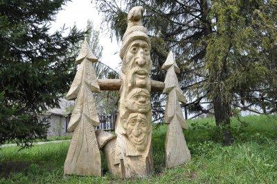 В черновицком музее поселился Чугайстер
