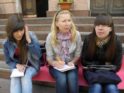 Молодежь Черновцов спрашивала у чиновников, какие книги они читали