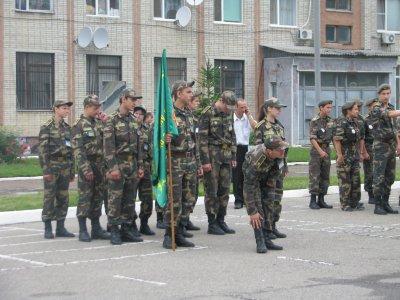 В Черновцах школьники играют в «Зарницу»