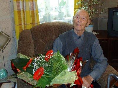 Черновчанин отметил 101-й день рождения