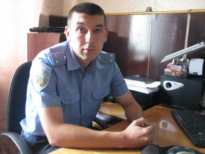 Лучшим участковым милиции на Буковине стал выпускник экономфака
