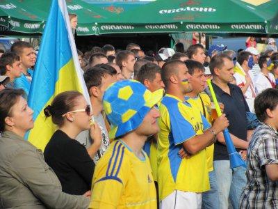 Два гола украинский черновицкие фаны встретили молча
