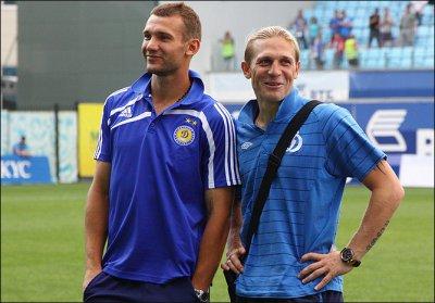 Шевченко и Воронин оставляют сборную