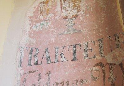В Нацбанке в Черновцах нашли надписи кафе «Габсбург»