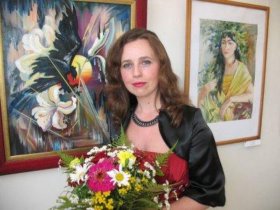 В Черновцах открылась выставка художницы Натальи Шевчук
