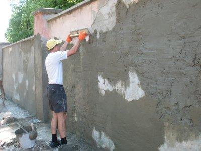 В Черновцах студенты-архитекторы реставрируют стены университета