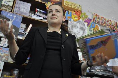 Нардеп Леся Оробец в Черновцах пообещала юридическую поддержку городским книжным магазинам