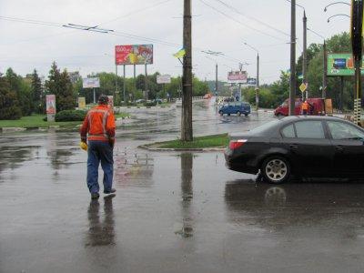 Остановка троллейбуса возле Дрижджзаводу вернули