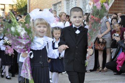 В черновицких школ ушли две с половиной тысячи первоклассников