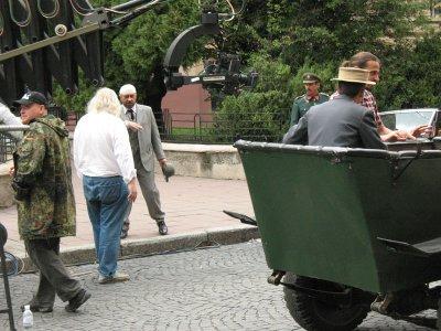 Черновцами ездили фаэтоны и фиакры