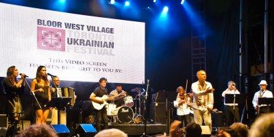 Центральная улица Торонто стала украинская